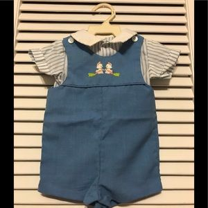 Nursery Rhyme Matching Sets - Baby Boy 2-piece Short Set